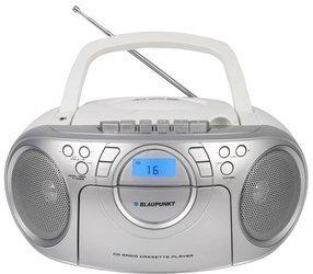 Boombox radio na baterie Blaupunkt MP3 USB AUX CD