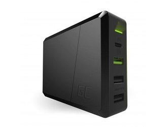 Ładowarka USB-C USB szybka mocna Green Cell 75W PD