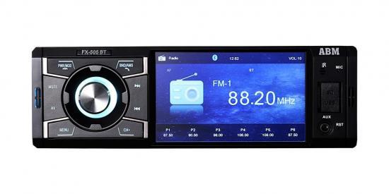ABM Radio samochodowe z FM/MP3/USB/microSD/Bluetooth/RDS/pilot FX-505-BT