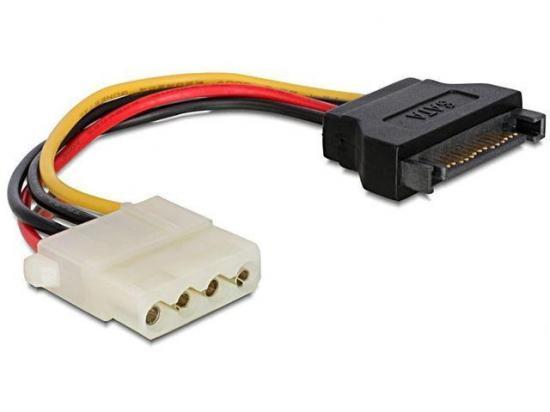 Gembird kabel Sata zasilajacy (M) -> Molex (F) 15cm