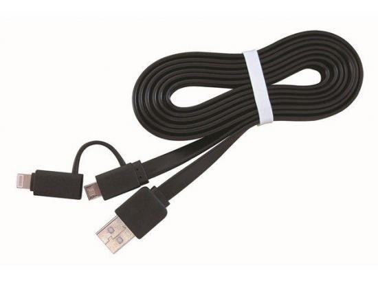 Gembird kabel USB do 8-pin/Micro ładowanie|transmisja (Iphone 5/6/7/8/X) 1m