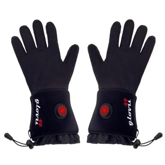 Ogrzewane rękawiczki termoaktywne Glovii XXS-XS