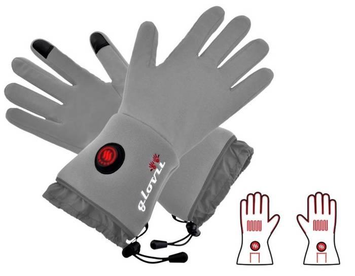 Ogrzewane rękawiczki termoaktywne Glovii - XXS-XS