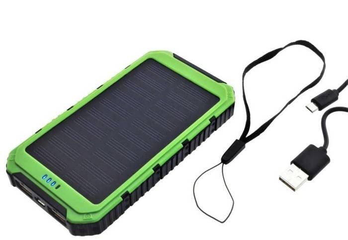 PowerNeed SUNEN PowerBank 6000mAh solar 0.8W
