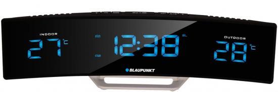 Radiobudzik Blaupunkt CR12BK Czarny z Termometrem