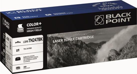 Toner cartridge Black Point LCBPBTN247BK | black | 3000 str. | Brother TN247BK